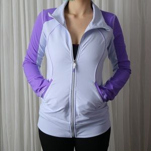Lululemon two-toned full-zip jacket